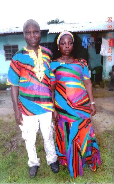 Pastor Alphenso and Wife
