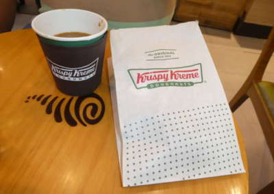 Stopped in for a donut on our way to Mindanao Island