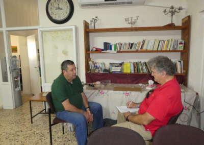 Interviewing Pastor Bishara