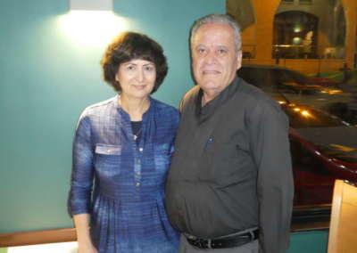 Jonathan and wife Hilda