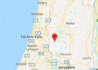 Aboud is located in the center of the Holy Land