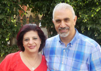 Pastors Nizar and Katy